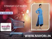 STRAIGHT CUT KURTA - MAYORI CLOTHING