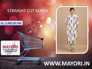 STRAIGHT CUT KURTA - MAYORI
