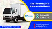 Cold Courier Service in Brisbane and Gold Coast