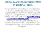 2 SEO Experts in Chennai, India