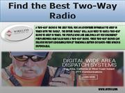 Find the Best Two-Way Radio