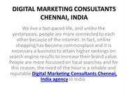 6 SEO Experts in Chennai, India