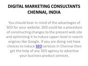 8 SEO Experts in Chennai, India