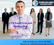 CCO Email Lists & Mailing Lists | Chief Compliance Officer Email Lists
