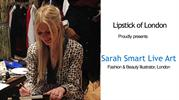 Sarah Smart Live Art - Fashion, Beauty & Live Event Illustrator
