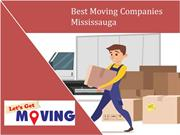 Best Moving Companies Mississauga