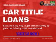 Car Title Loans Ontario | Borrow Up To $25000