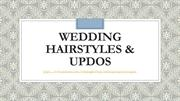 Wedding Hairstyles & Updos