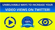Unbelievably Simple Ways To Increase Video Views on Twitter