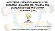 Montessori, preschool and Child Care – Diamond Bar Montessori Academy