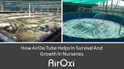 How AirOxi Tube Helps In Survival And Growth In Nurseries- AirOxi Tube