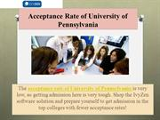 Acceptance Rate of University of Pennsylvania