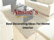 Best Decorating Ideas For Home Interior