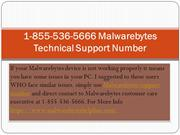 1-855-536-5666 Malwarebytes Technical Support Number