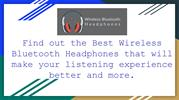 Best Mpow Bluetooth Headphones - Wireless Bluetooth Headphones