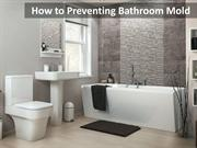 How to Preventing Bathroom Mold