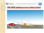 UHF RFID parking access control system