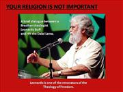 Your Religion Is Not Important - L. Boff