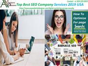 Top Best SEO Company Services 2019 USA