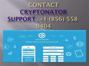 Cryptonator suppor Number {(856 558-9404)}