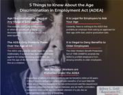 Five Things You Should Know About the ADEA