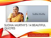 Sudha Murthy and her 14 Beautiful Quotes