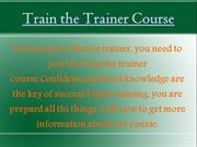 English speaking and Train the Trainer course (2)