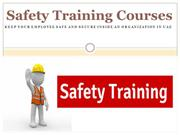 Safety Training Courses :Keep Your Employee Safe and Secure