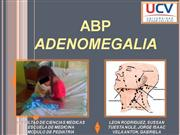 adenomegalia - PEDIATRIA