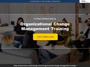Learn Organizational Change Management With Tonex training Courses