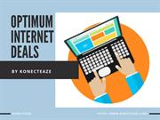 optimum internet deals
