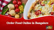 Order food online in Bangalore