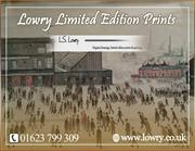 L.S. Lowry Limited Edition Prints | Corn Water Fine Art Gallery