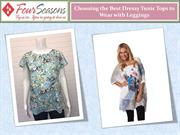 Choosing the Best Dressy Tunic Tops to Wear with Leggings