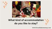 What kind of accommodation do you like to stay_
