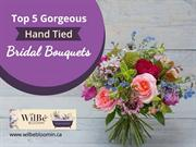 Top 5 Gorgeous Hand Tied Bride Bouquets - Florist in Toronto Ontario