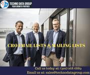 CRO Email Lists & Mailing Lists | Chief Revenue Officer Email Lists