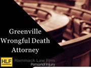 Greenville Wrongful Death Attorney