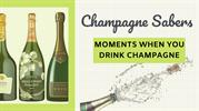 How to Saber a Bottle of Champagne?- Champagne Saber