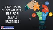 How to Select an ERP for Small Business