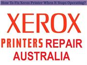 How To Fix Xerox Printer When It Stops Operating