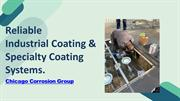 Reliable Industrial Coating & Specialty Coating Systems in Chicago