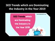 10 SEO Trends in the year 2019