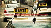 Important Guidelines Regarding Private Hire Insurance
