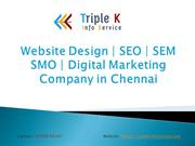Website Design | SEO | SEM | SMO | SMM in Chennai