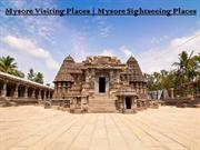 Mysore Sightseeing Places