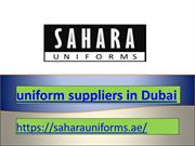 uniform suppliers in Dubai