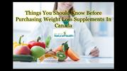 Things You Should Know Before Purchasing Weight Loss Supplements In Ca