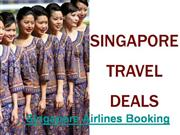 Singapore Airlines and Hotel Booking Web