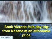 Book Victoria falls day trip from Kasane at an affordable price